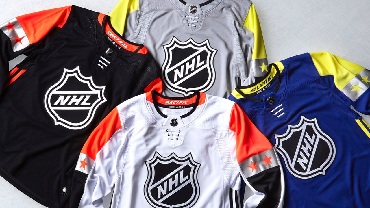 Poll  Which 2018 NHL All-Star Game jersey is your favourite ... f2d58bd73dd