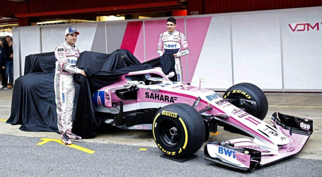 Force India Toro Rosso Haas Unveil New Cars For F Season - The new cars