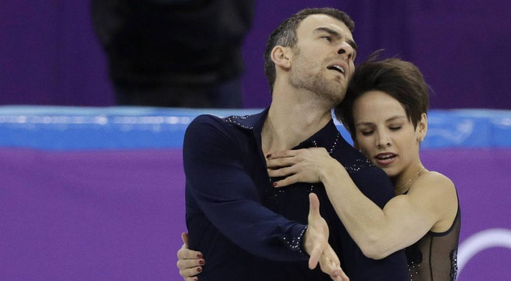 Olympic team figure skating event wraps up
