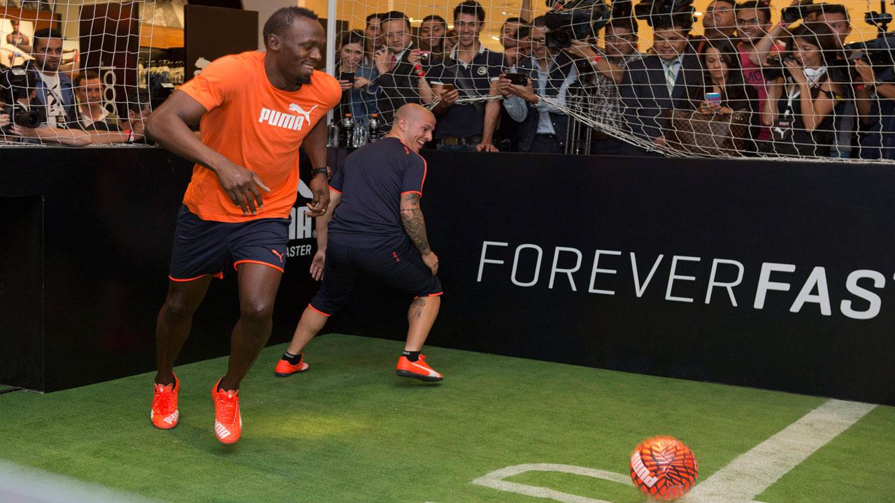 Usain Bolt to train with Borussia Dortmund on Friday