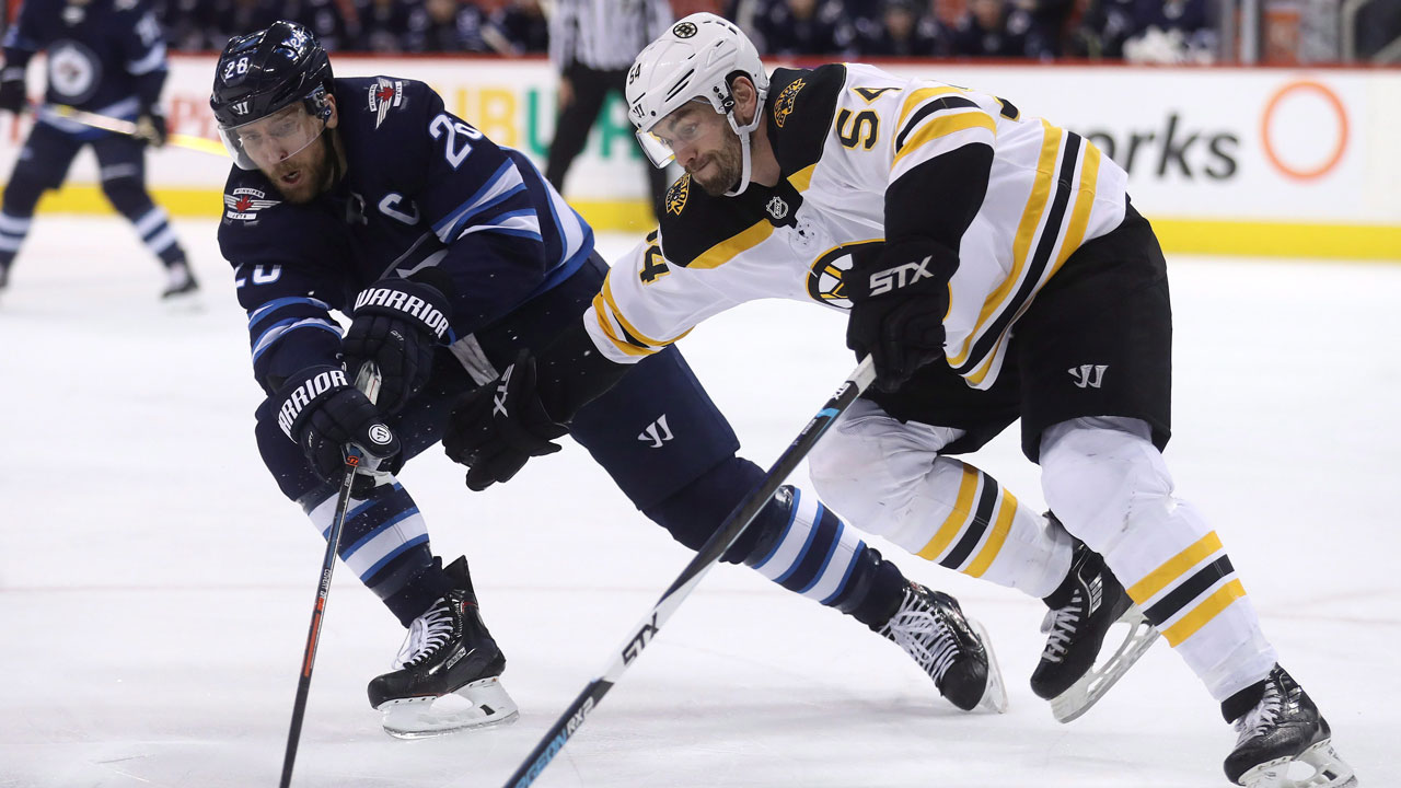 Laine Has Shootout Winner As Jets Edge Bruins, Sweep Six-game Homestand