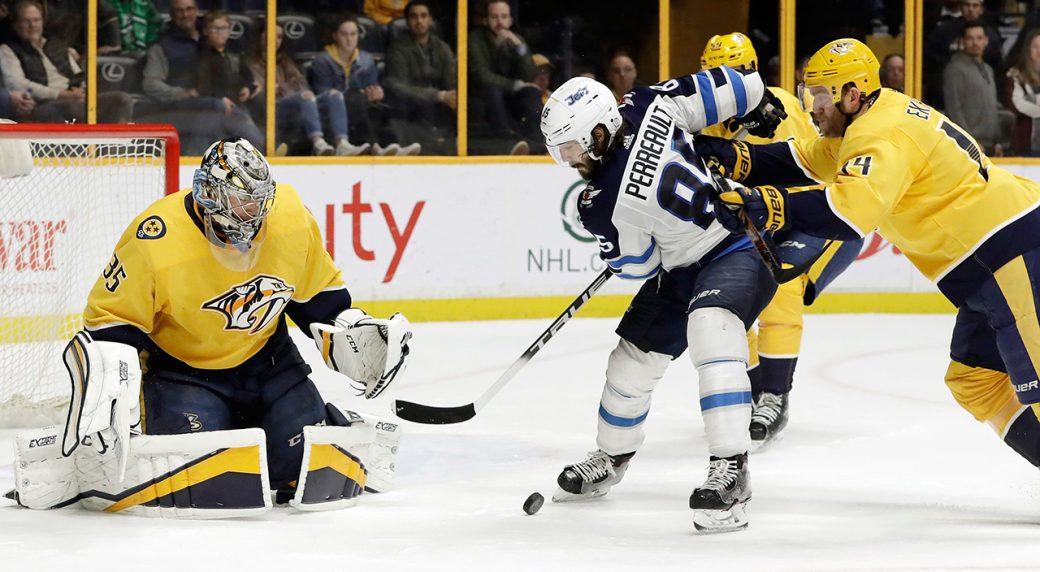 Predators' Calle Jarnkrok to miss rest of season with upper-body injury
