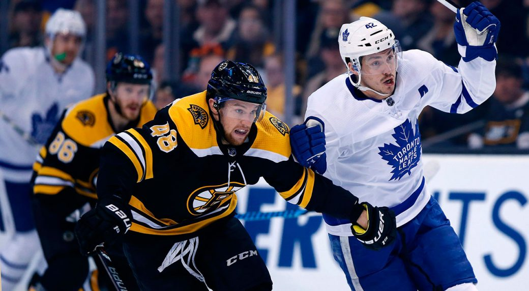 Bruins fail to finish off Leafs again, lose 3-1