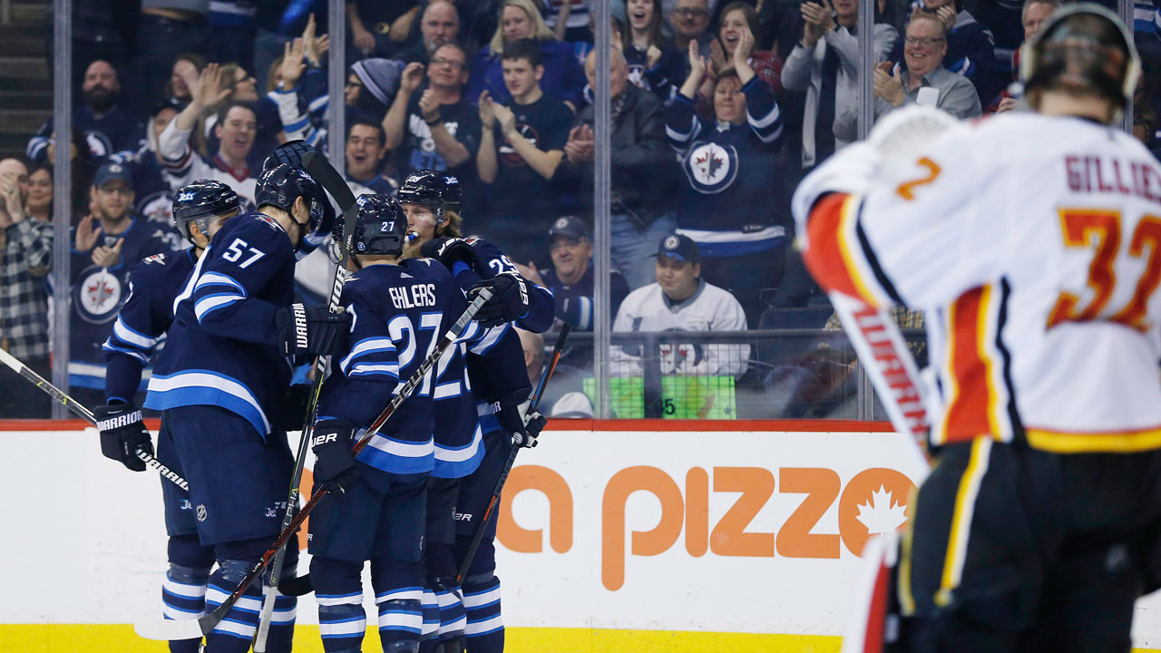 Blake Wheeler's 90th Point Of Season Lifts Jets Over Flames