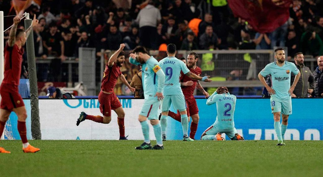 Roma predict baby boom after Champions League comeback