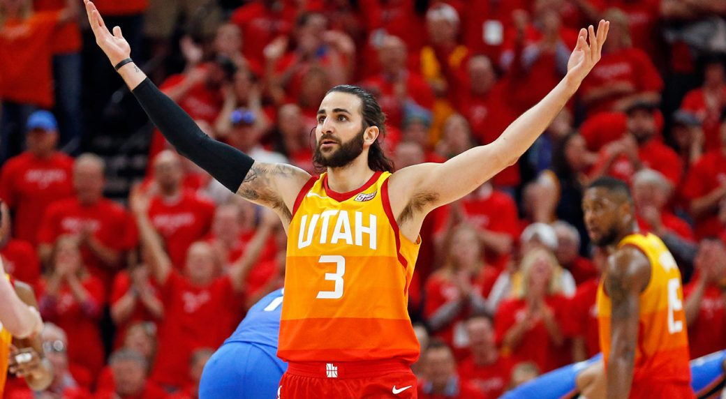 Jazz guard Ricky Rubio to miss Game 1 with hamstring injury ... 90960f847