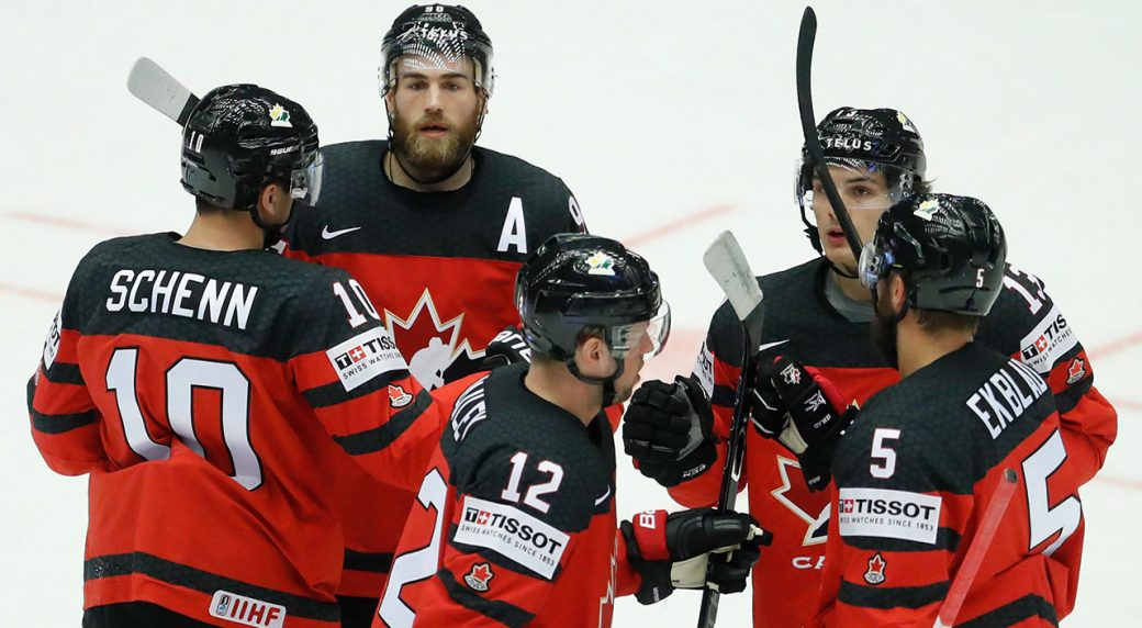 Worlds: Nugent-Hopkins Scores 2 As Canada Beats Denmark At Hockey Worlds