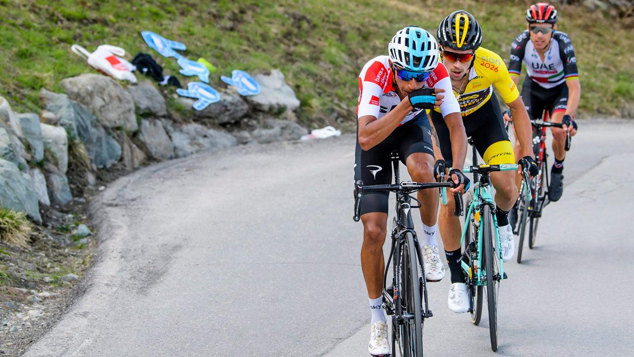 Team Sky's Bernal wins first GC test in Tour of California
