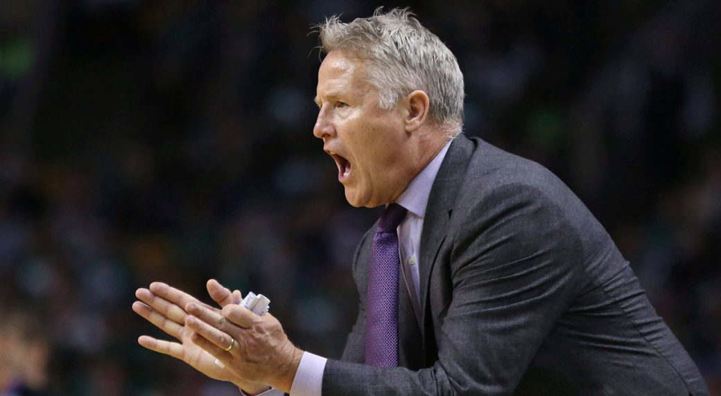 Brett Brown and Philadelphia 76ers agree three-year contract extension