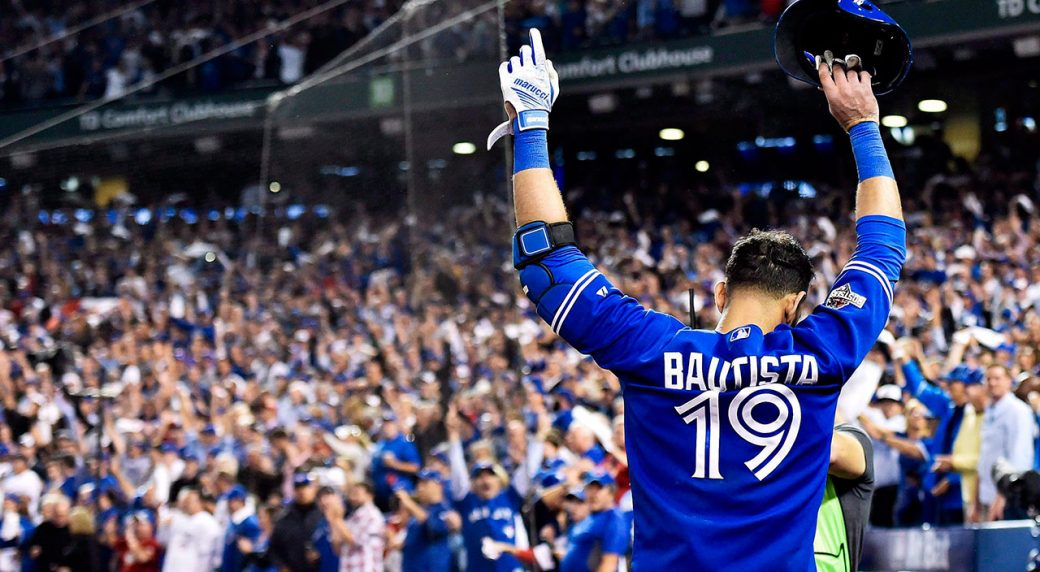 Jose Bautista gets standing ovation in return to Toronto