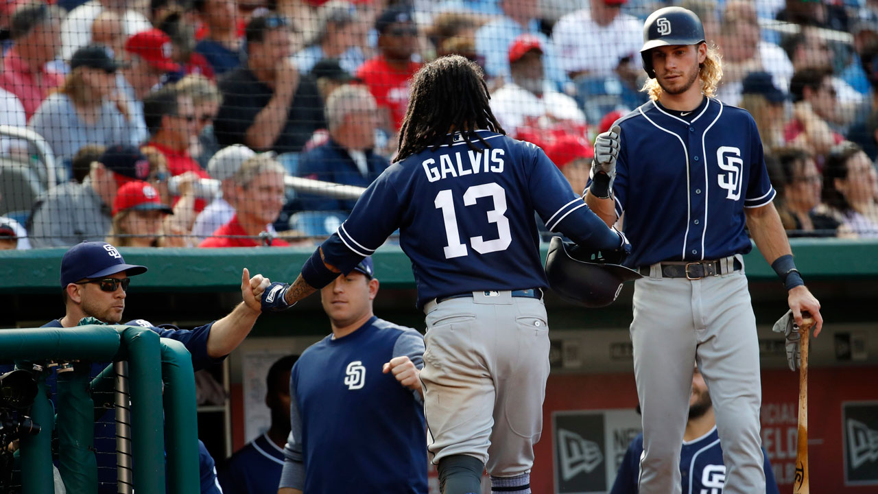 Villanueva's two-run double lifts Padres past Nationals