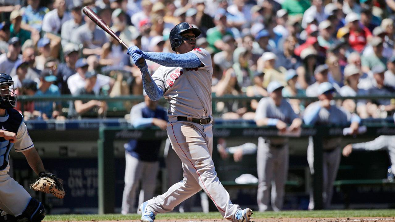 Boston-red-sox-rafael-devers-hits-home-run