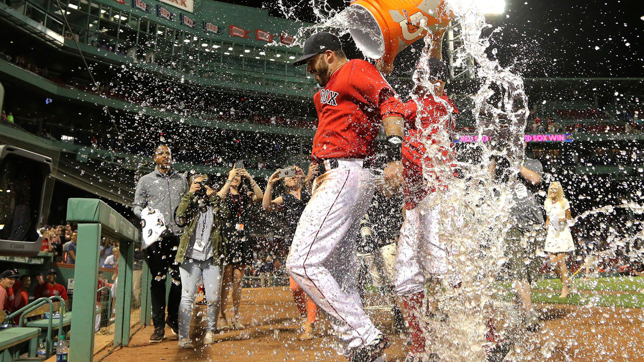 J.d.-martinez-is-doused-with-water-after-red-sox-win-over-mariners