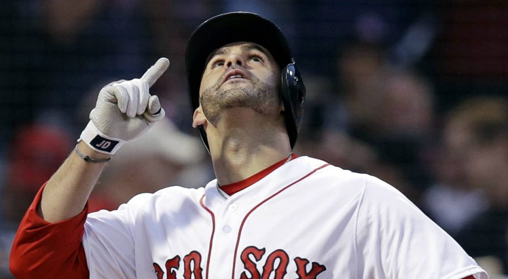 RED SOX: J.D. Martinez and Mookie Betts AL Silver Sluggers