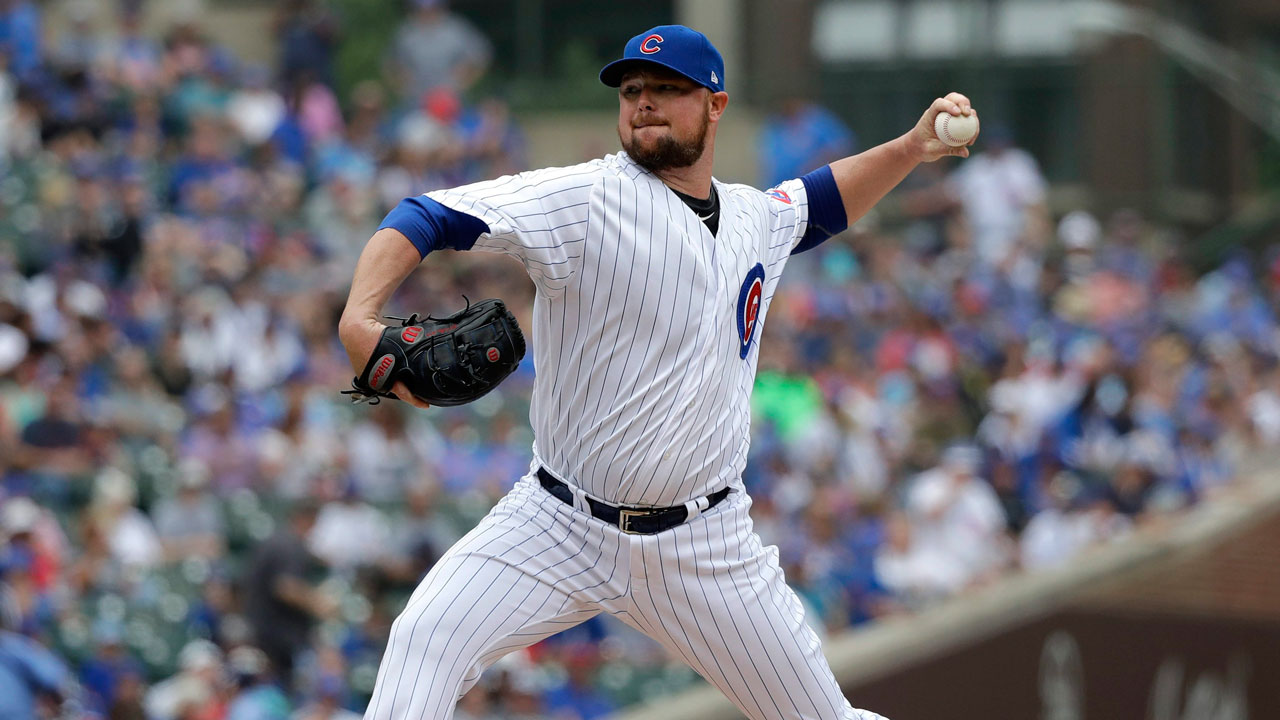 Jon-lester-throws-pitch-against-los-angeles-dodgers