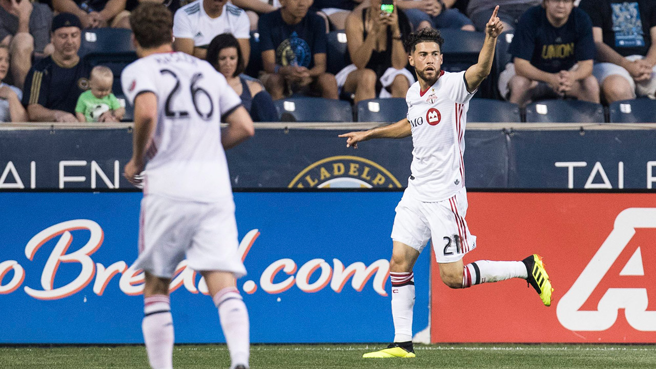 MLS takeaways: Osorio's emergence for TFC a positive trend