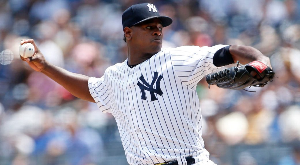 1fd2f77cfd96 Yankees  Severino to miss over a month with shoulder injury ...