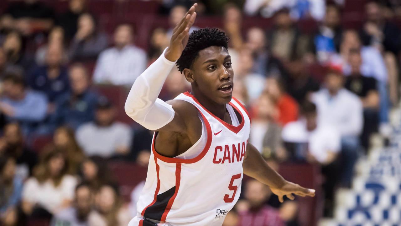 Coach K full of praise for Canada's R.J. Barrett