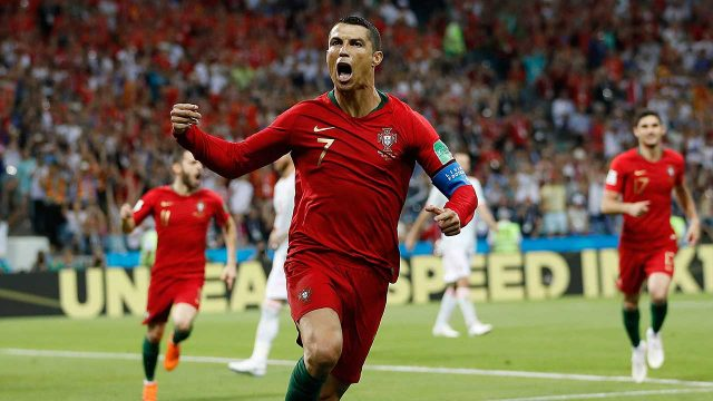 ec833e6740c ronaldo-celebrates-scoring-against-spain-in-world-cup. Cristiano Ronaldo  joins Italian champions Juventus
