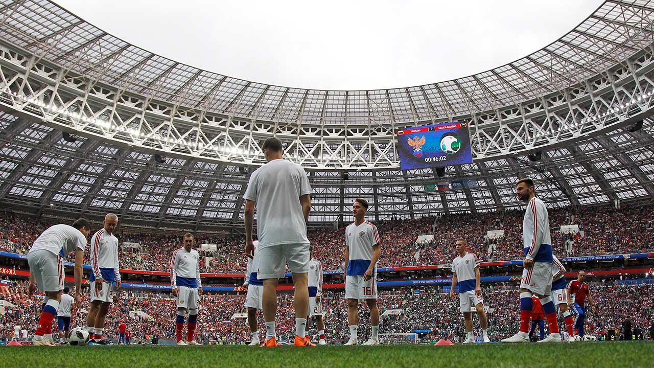 2018 FIFA World Cup Live: Russia vs. Saudi Arabia