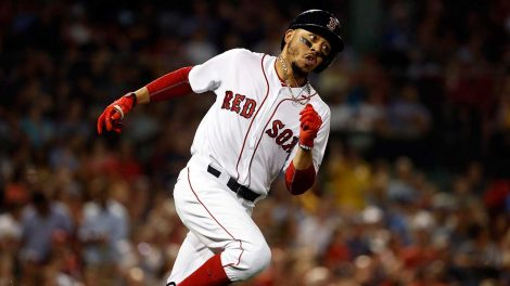 Boston-red-soxs-mookie-betts-runs-out-a-double-against-texas-rangers-470x264