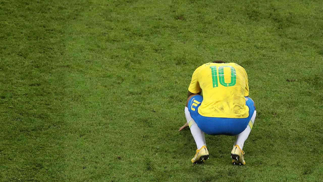 Neymar describes Brazil's World Cup exit as painful time