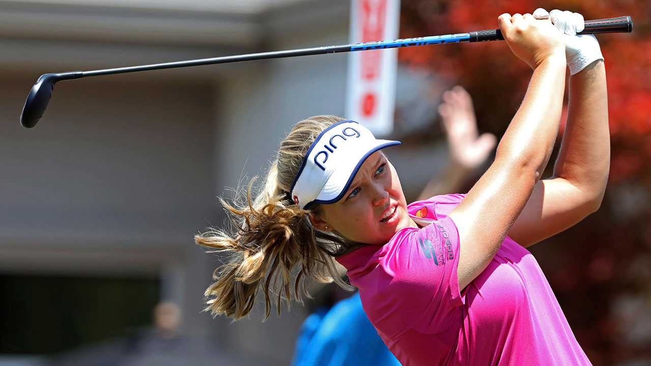 Brooke Henderson struggles late, finishes 3rd at Marathon Classic