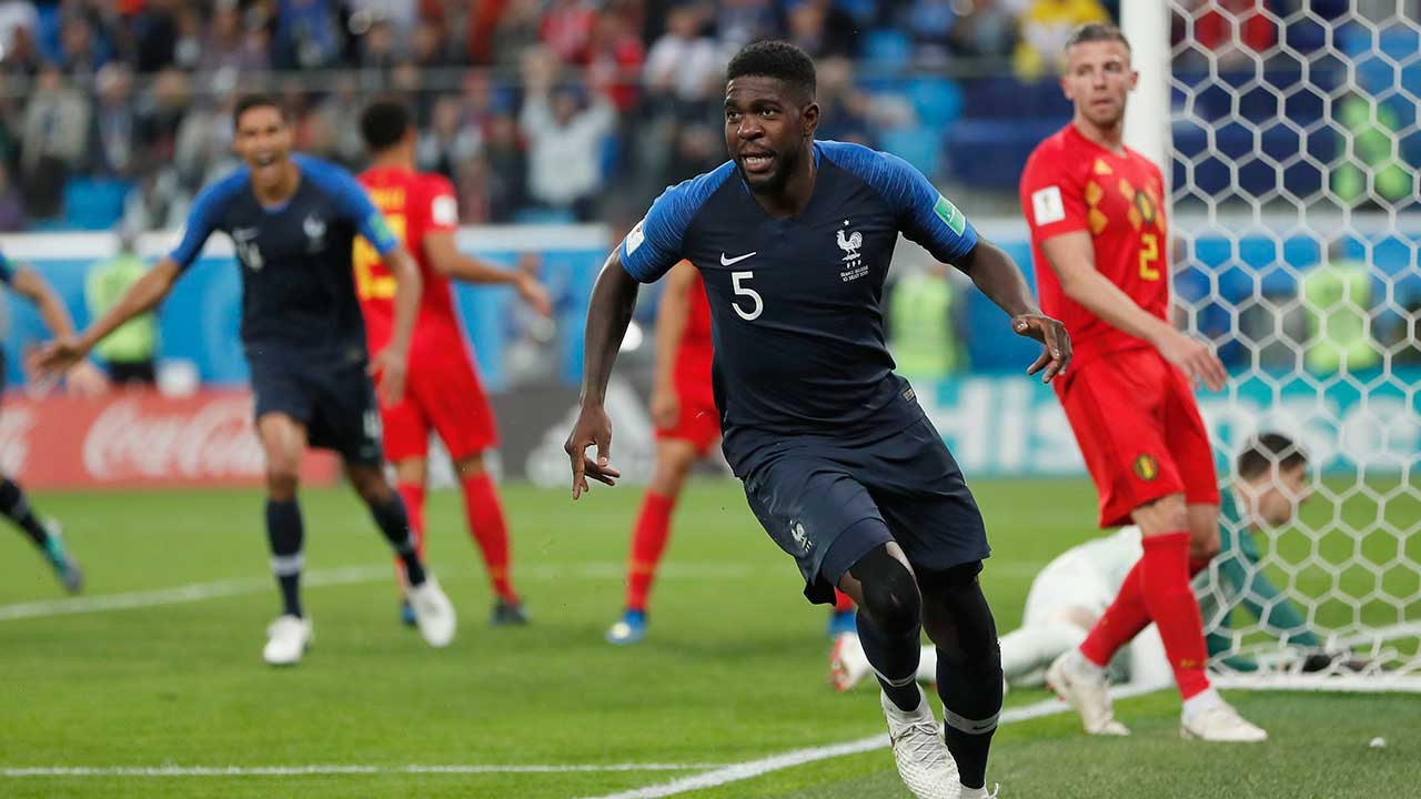 Who will take on France in the World Cup final?
