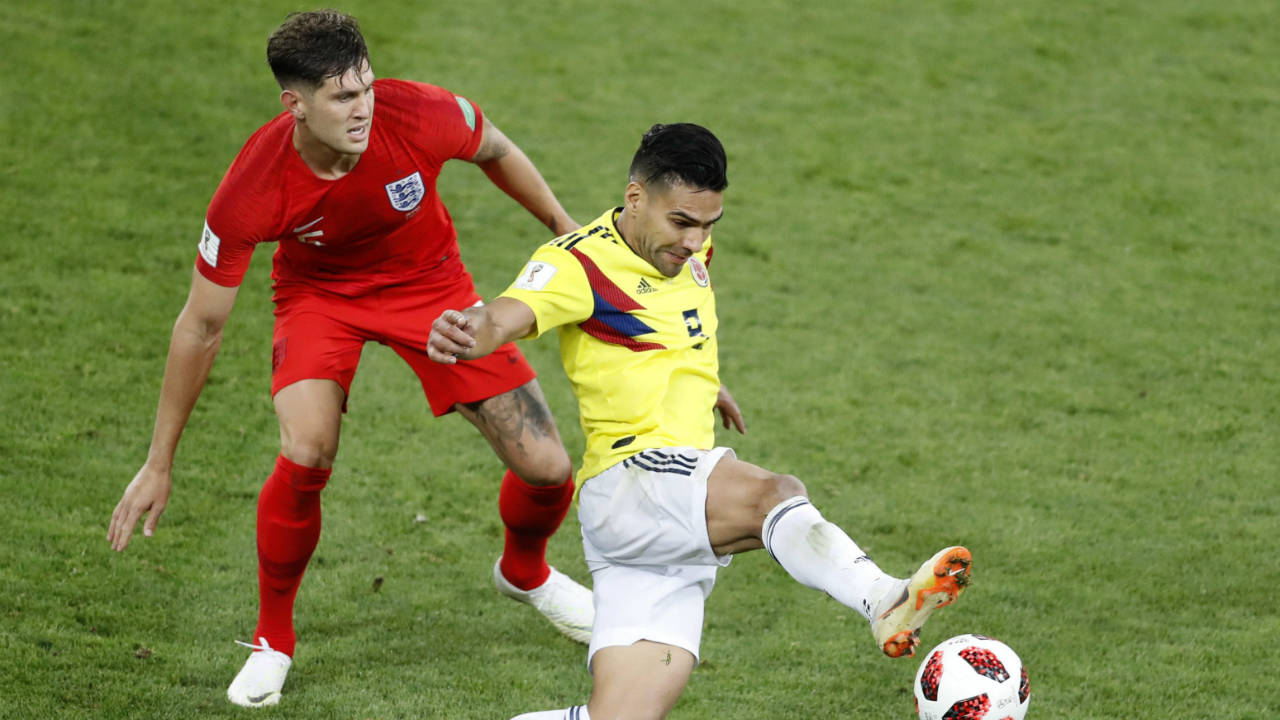 England's Stones calls Colombia 'dirtiest team' he's faced