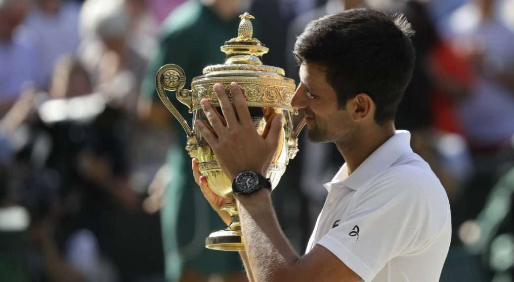 Novak Djokovic Bests Kevin Anderson To Win Th Wimbledon Title