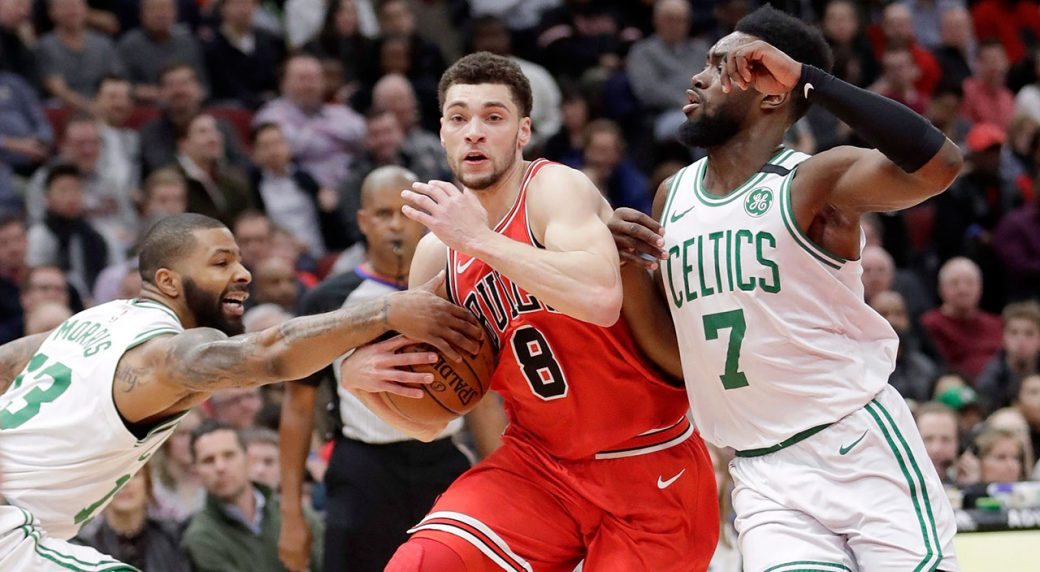 LaVine signs offer sheet with Kings, Bulls match