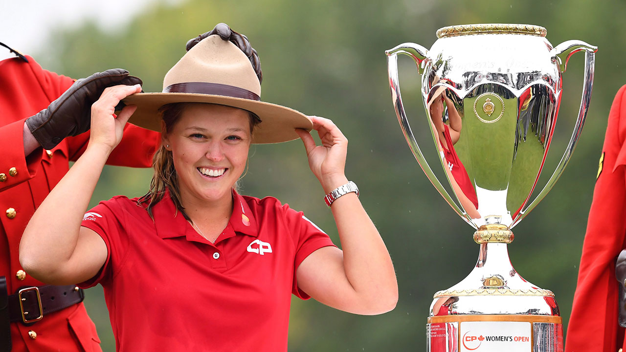 year of brooke henderson shaping up to continue at cp women u0026 39 s open