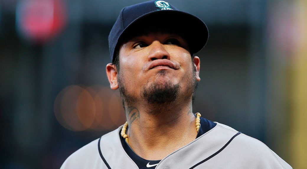 Mariners move Felix Hernandez to the bullpen