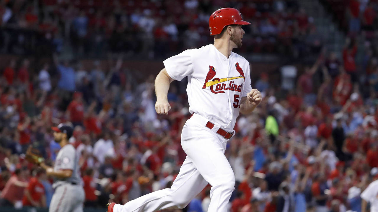 Gant homers, pitches Cardinals to win over Nationals