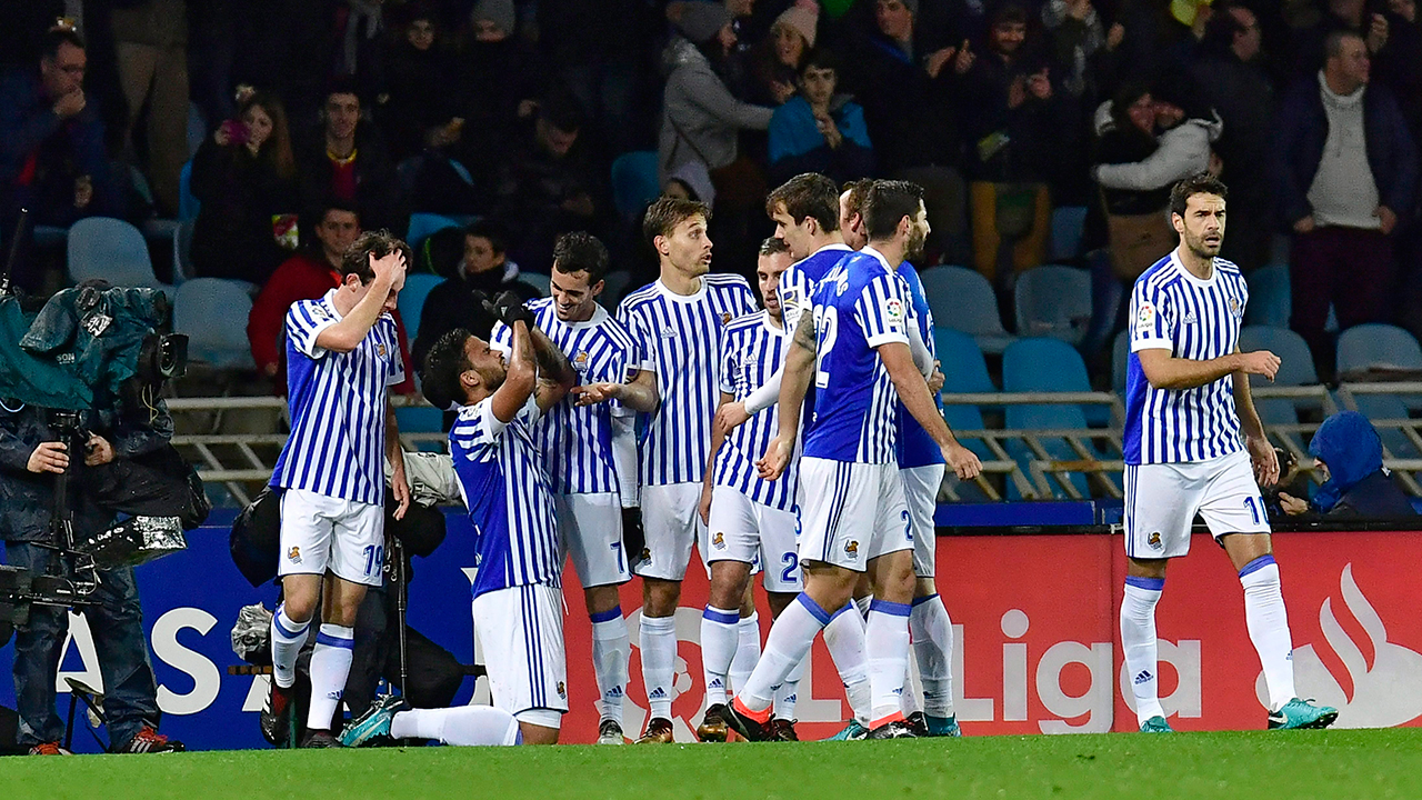 Sociedad squanders lead, misses chance for another away win