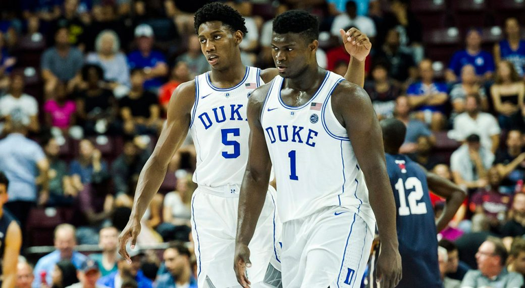 39e2374a1017 2019 NBA mock draft  Zion goes first