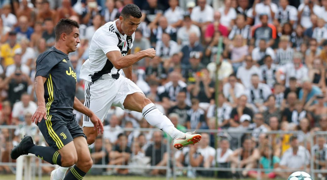 fb9014d7edc Ronaldo makes Juventus fans wait only 8 minutes for 1st goal ...