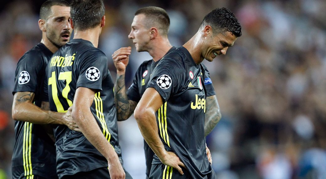 808a4c49e94 Champions League review  Ridiculous red card for Ronaldo - Sportsnet.ca