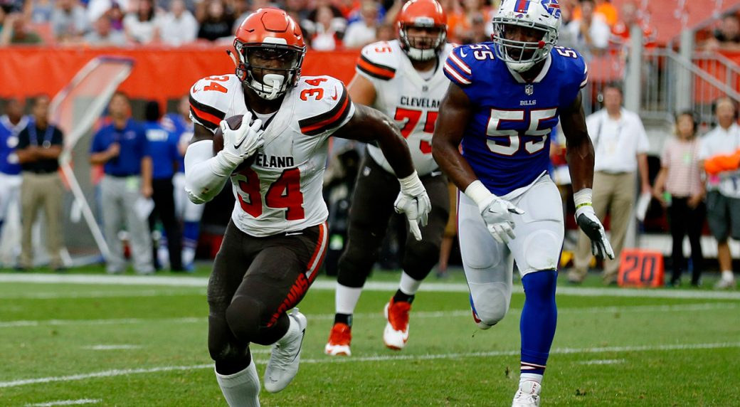 Browns trade RB Hyde to Jaguars