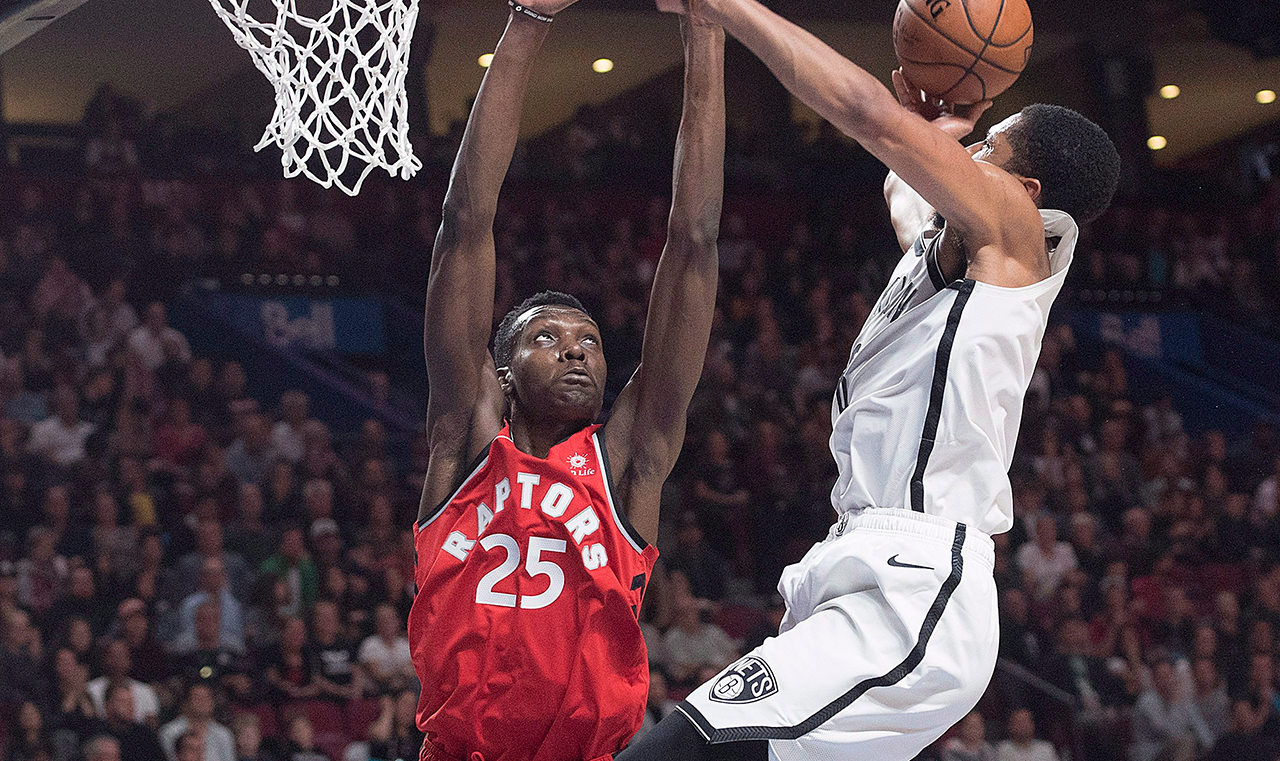 Canada's Chris Boucher secures two-way contract with Raptors