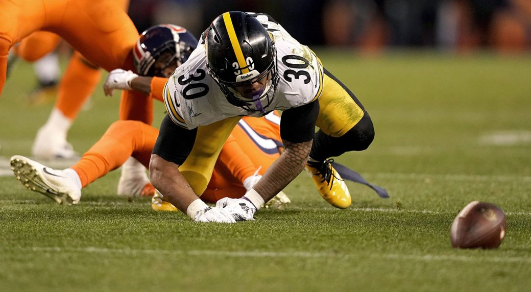 220073bc011 Steelers RB James Conner out vs. Raiders with sprained left ankle ...