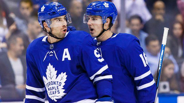 Maple-Leafs;-John-Tavares;-Mitch-Marner