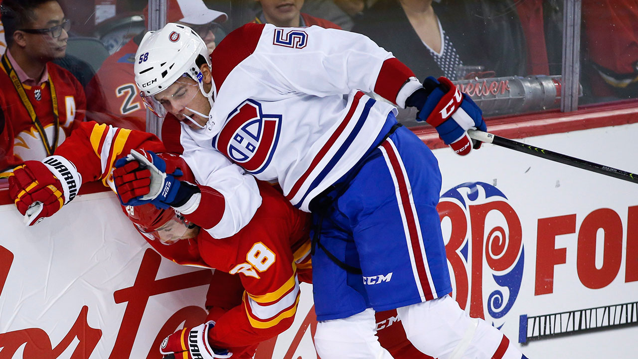 Canadiens  Noah Juulsen out indefinitely with facial fracture ... 0b4d7be1c