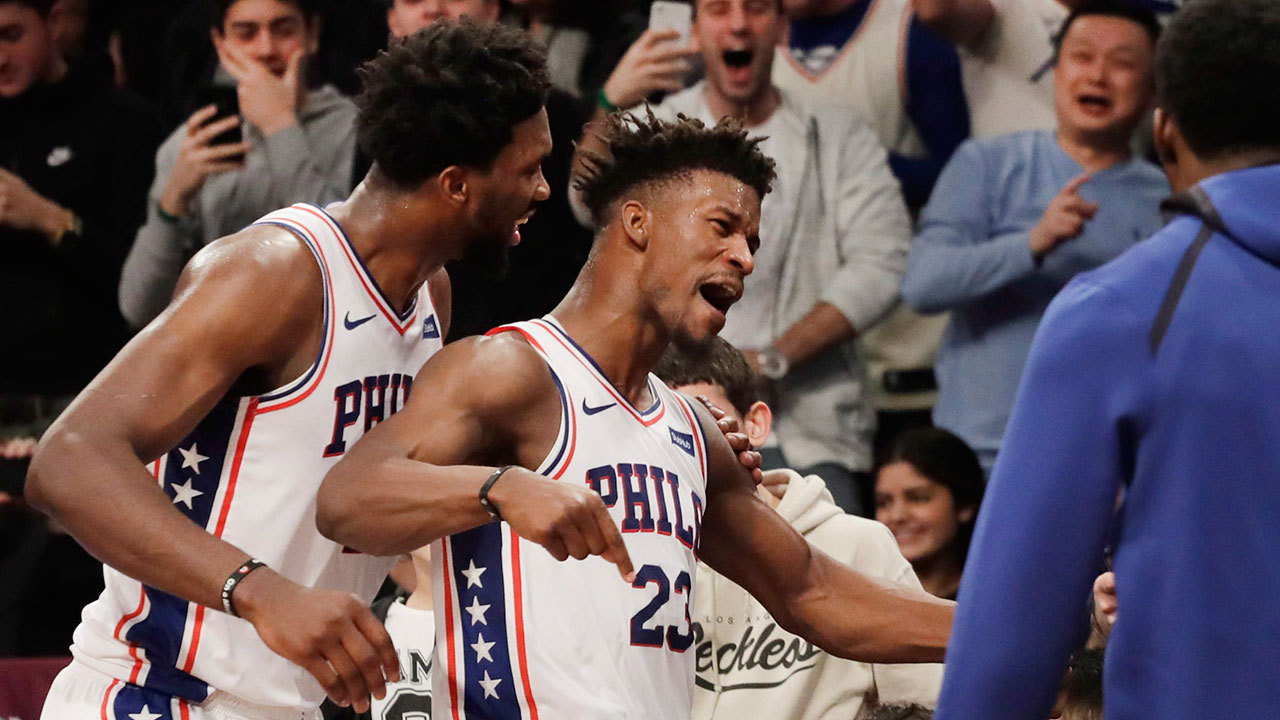 c5702708a Raptors getting different 76ers challenge with Jimmy Butler in the ...
