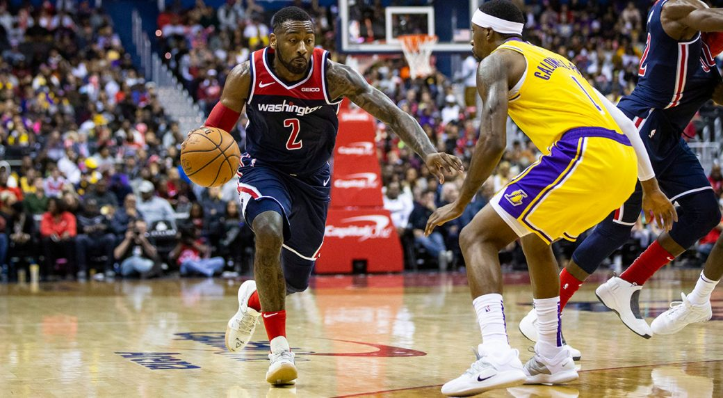 Wizards guard John Wall tears Achilles in fall, out 12 months