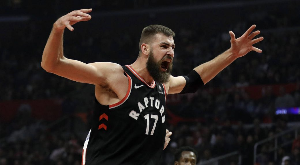 15efc0623ea Raptors' Jonas Valanciunas at 'maximum' disappointment following ...