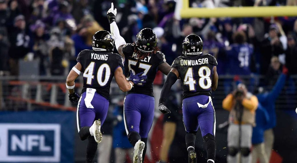 Ravens squeeze past Browns to clinch AFC North title - Sportsnet.ca 53ccc33da