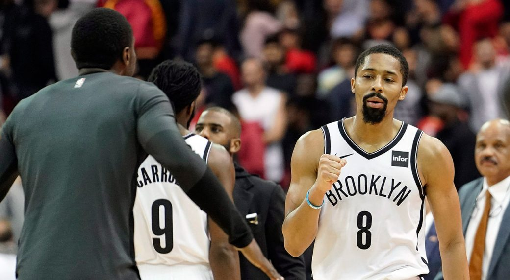 check out 92762 caa4e Nets spoil Harden s 58-point night with win over Rockets