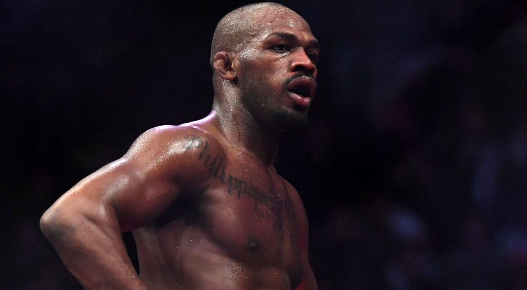 Jon Jones lashes out after questioning from Michael Bisping following UFC 232