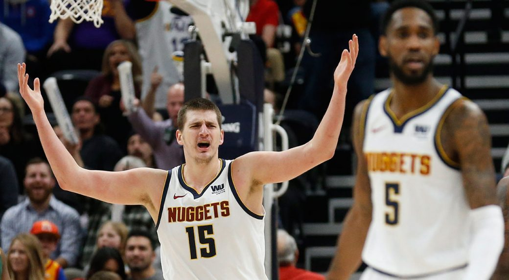 Nikola Jokic Suspended 1 Game for Leaving Bench During Fight